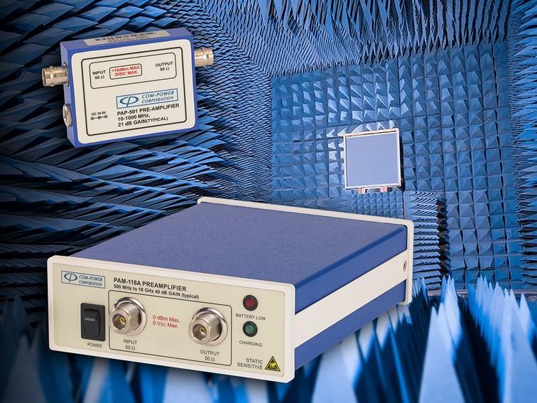 Voorversterker EMC metingen