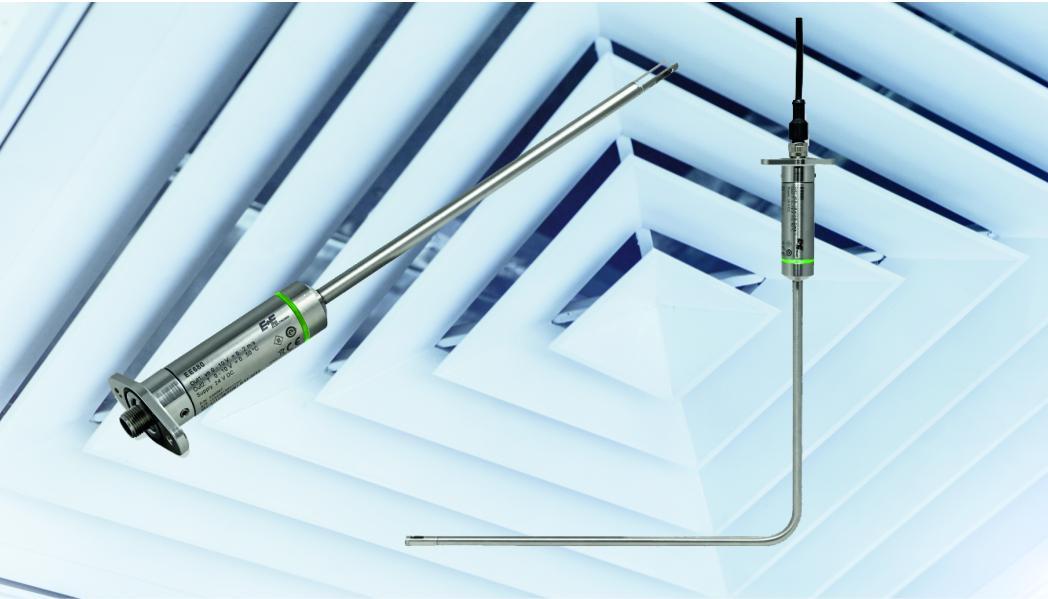 E+E Luchtsnelheid sensor voor het exact meten van flow in laminaire flow omstandigheden.