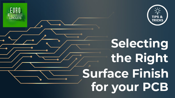 Selecting the right surface finish