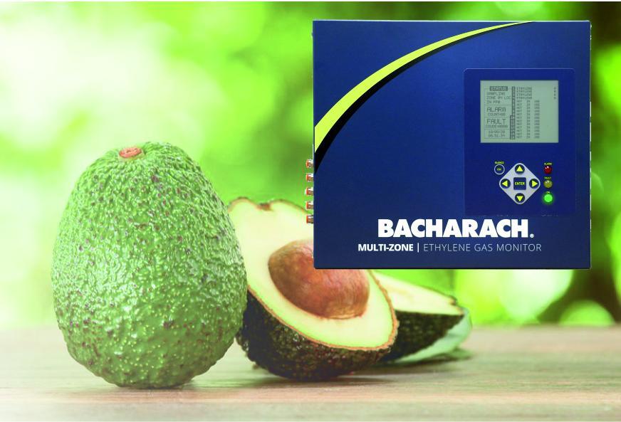 Bacharach Ethyleenmonitoring voor kritische rijping proces van groenten en fruit