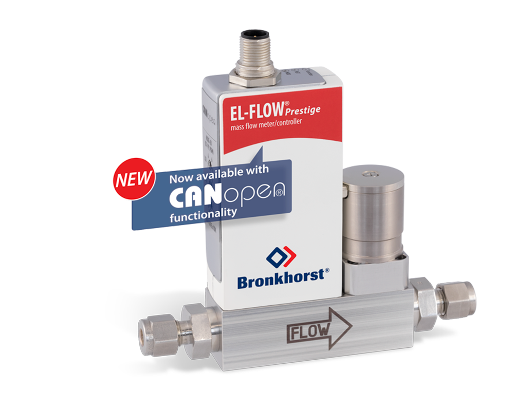 Bronkhorst Flowmeters / regelaars met CANopen®-interface