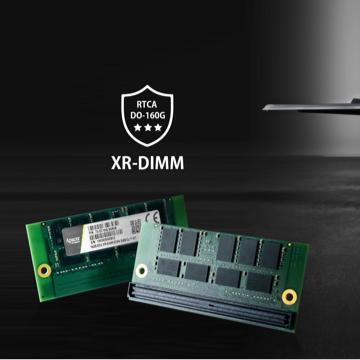 Robuuste DIMM modules voor rail, lucht- en ruimtevaart toepassingen