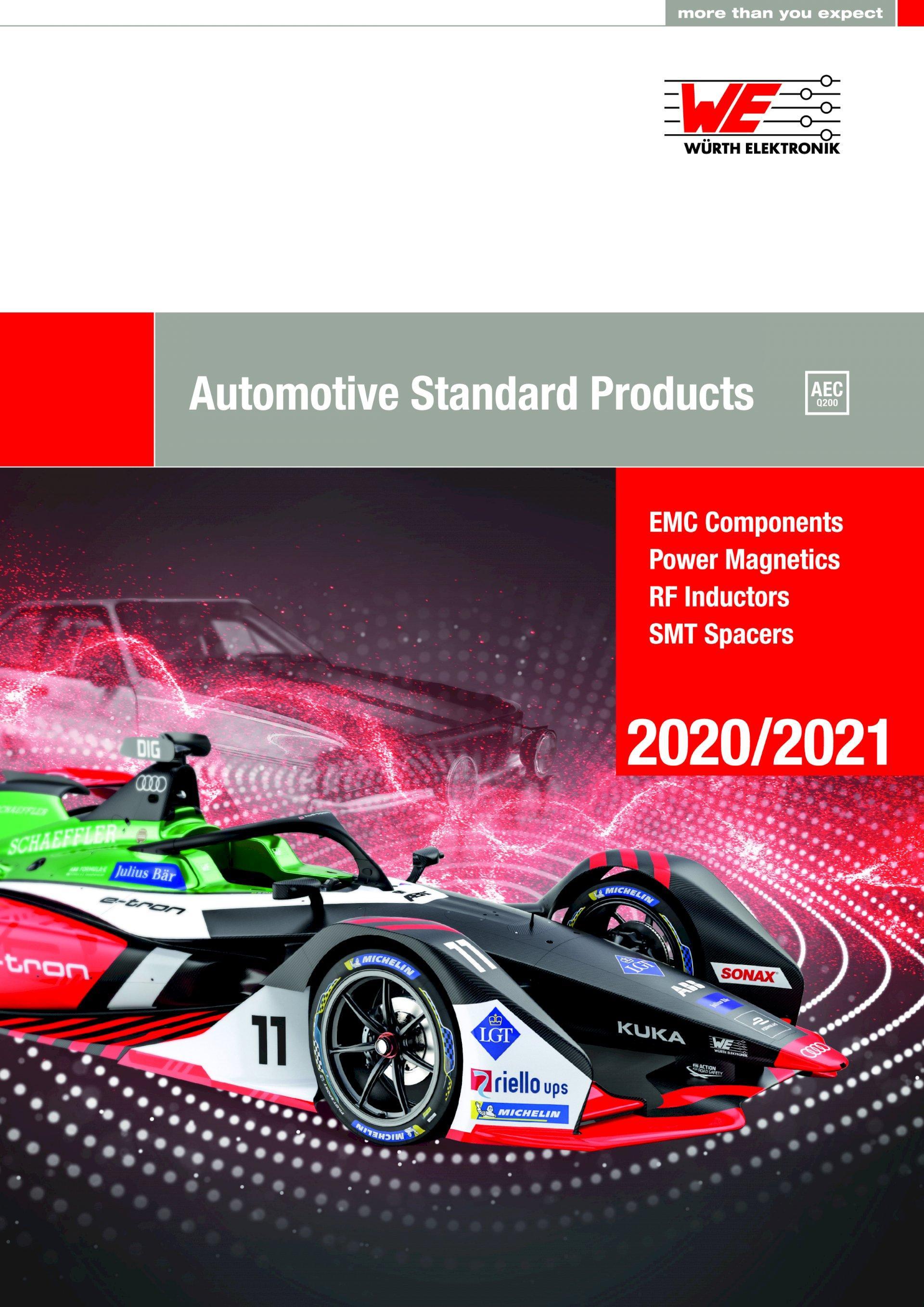 New Würth Elektronik Automotive Components Catalog