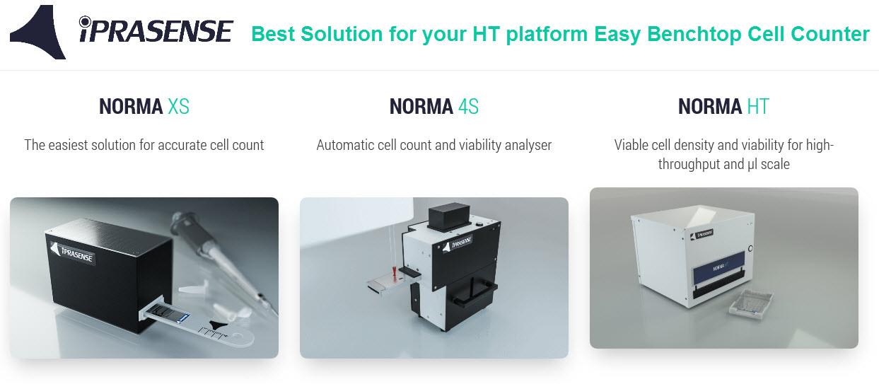 How to automate fast and robust cell count and viability analysis when high throughput and low volumes are a challenge for your process ?