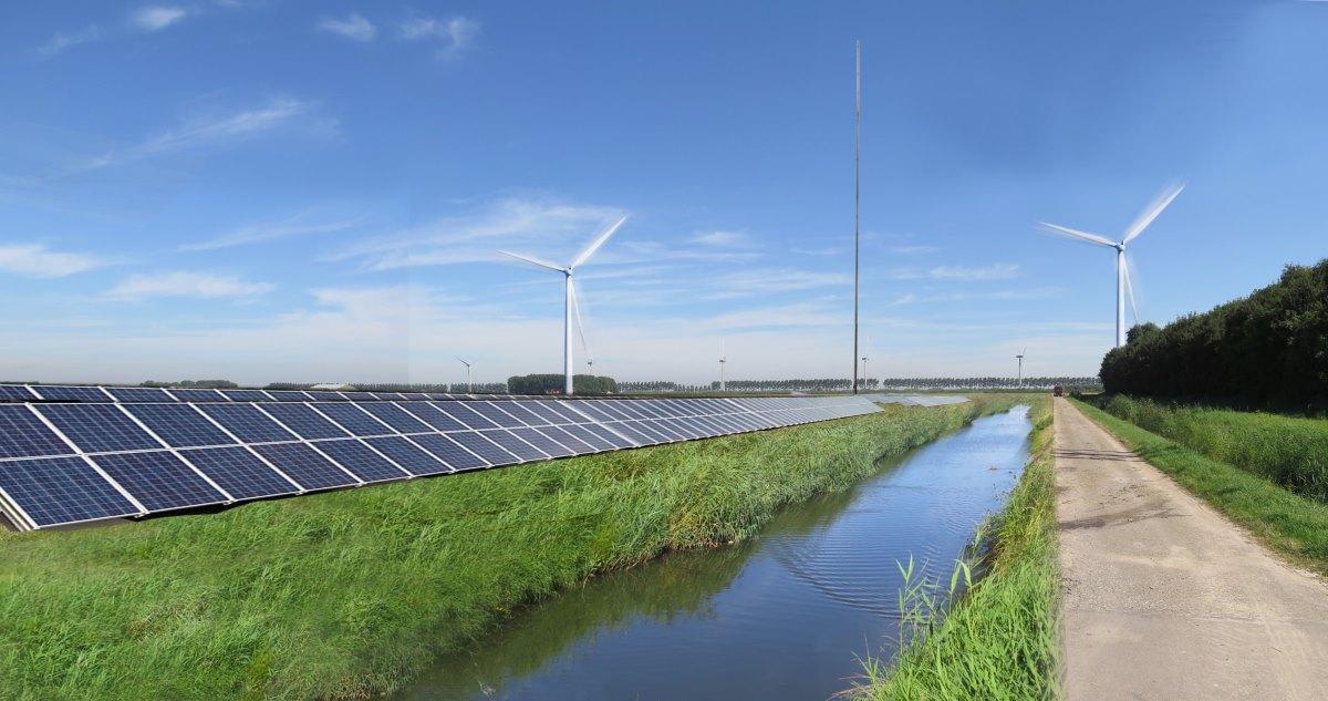 Vattenfall ontwikkelt hybride energiepark