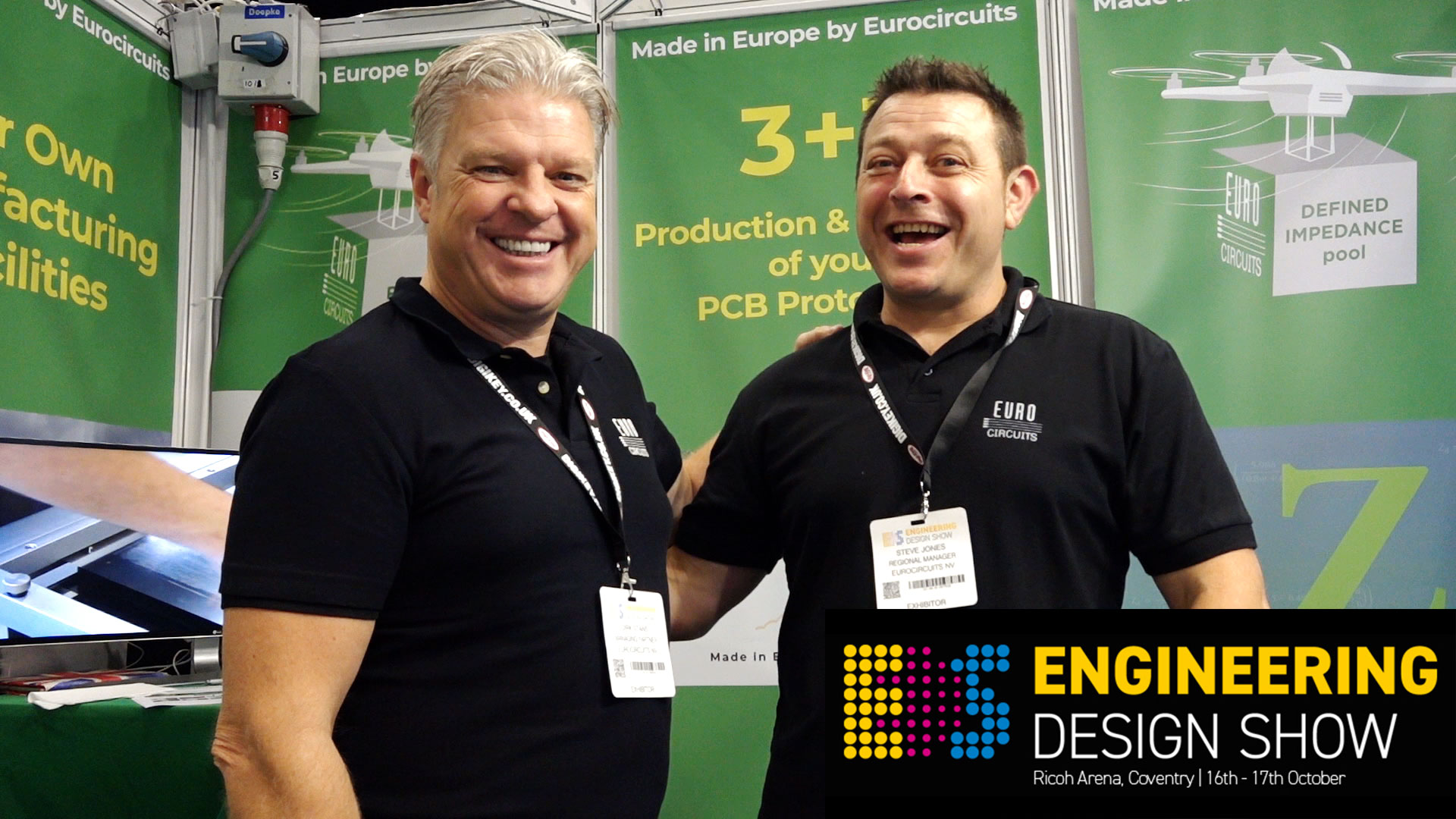 This was the Engineering Design Show 2019 in Coventry UK