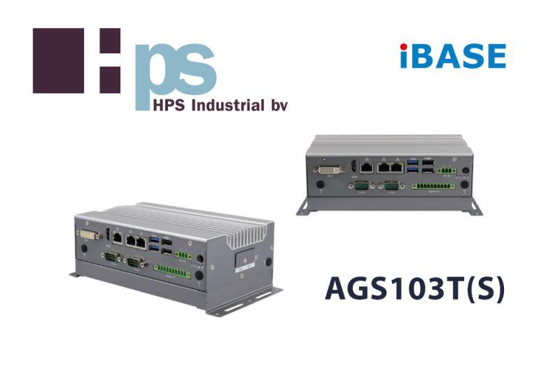 IBASE Technology kondigt de nieuwe AGS103T(S) Box PC aan met Intel® Elkhart Lake platform.