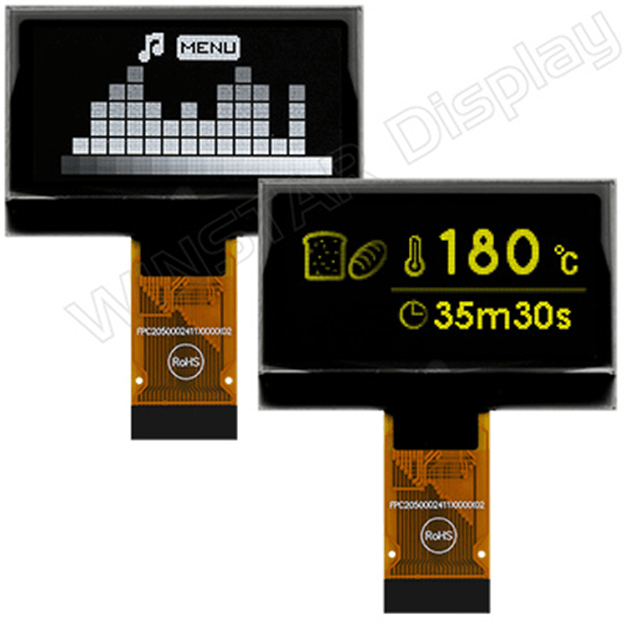 Winstar 1.54″ Gray Scale 128×64 COG OLED