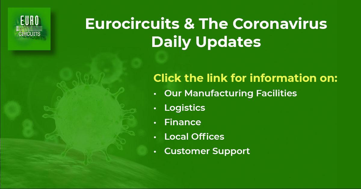 Eurocircuits & the Coronavirus