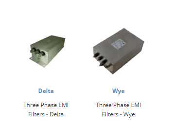 THREE-PHASE EMI FILTERS