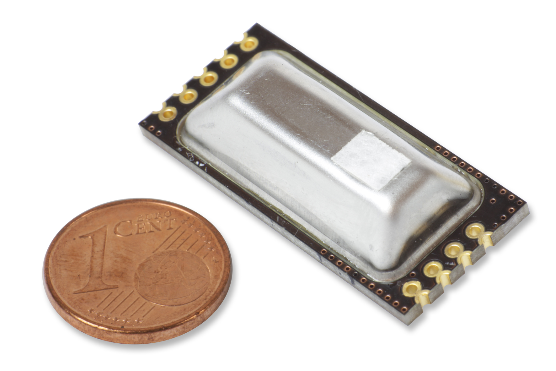 Miniatuur sensor voor CO2, Temperatuur en Barometrische druk.