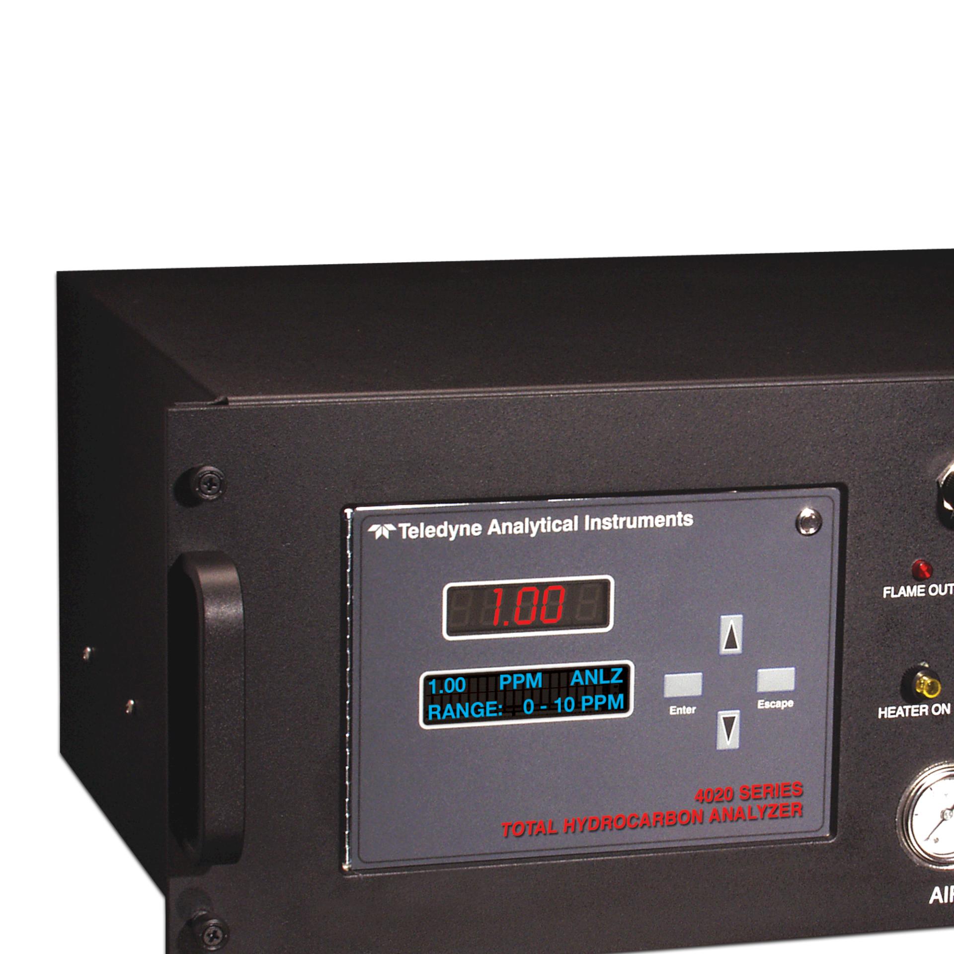 Nauwkeurig meten met koolwaterstof-analyser