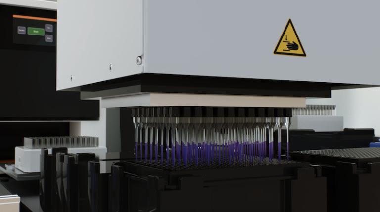 Testrobot 'The Beast' verwerkt twintigduizend coronatests per dag