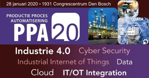 Registreer nu voor een bezoek aan het Productie Proces Automatisering (PPA) event op 28 januari 2020