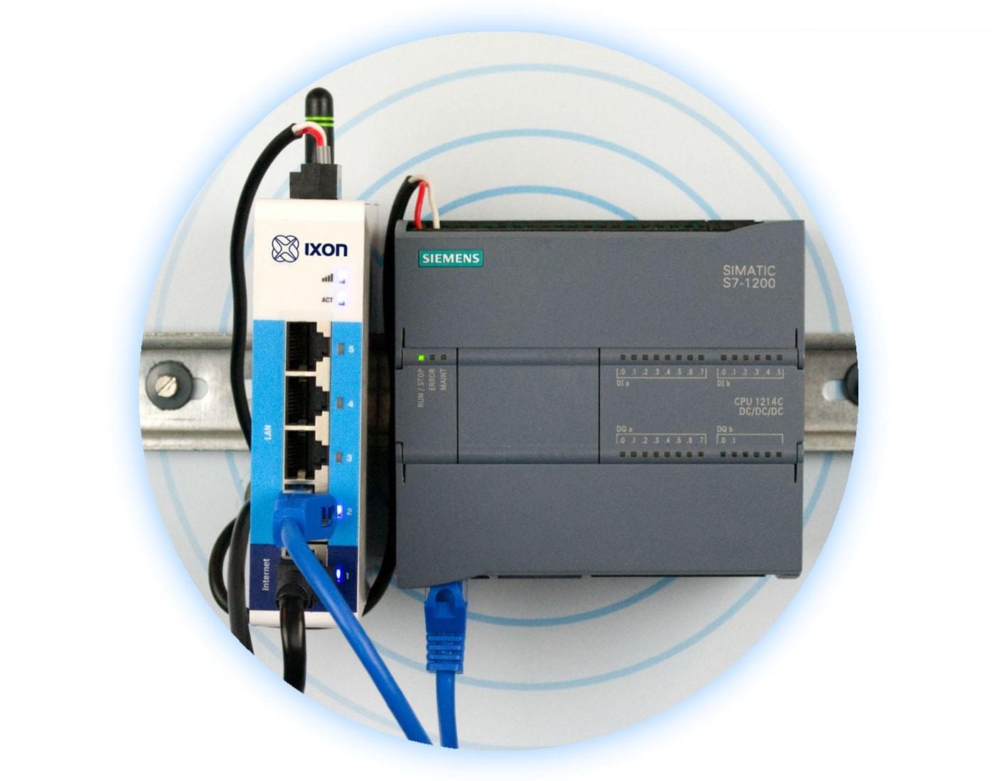 Toegang op afstand voor Siemens PLC