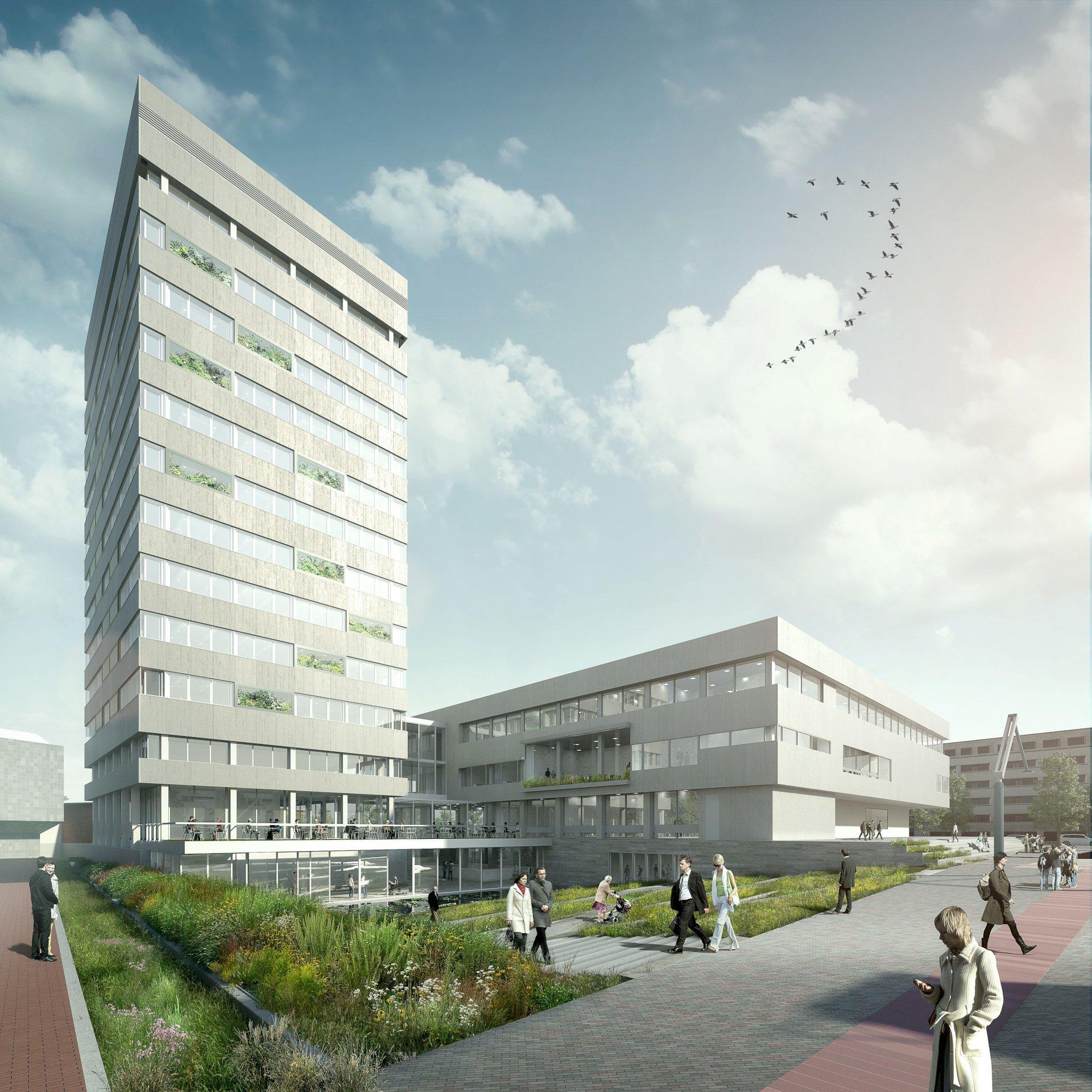 Kuijpers transformeert Eindhovense Stadhuistoren in Smart Building