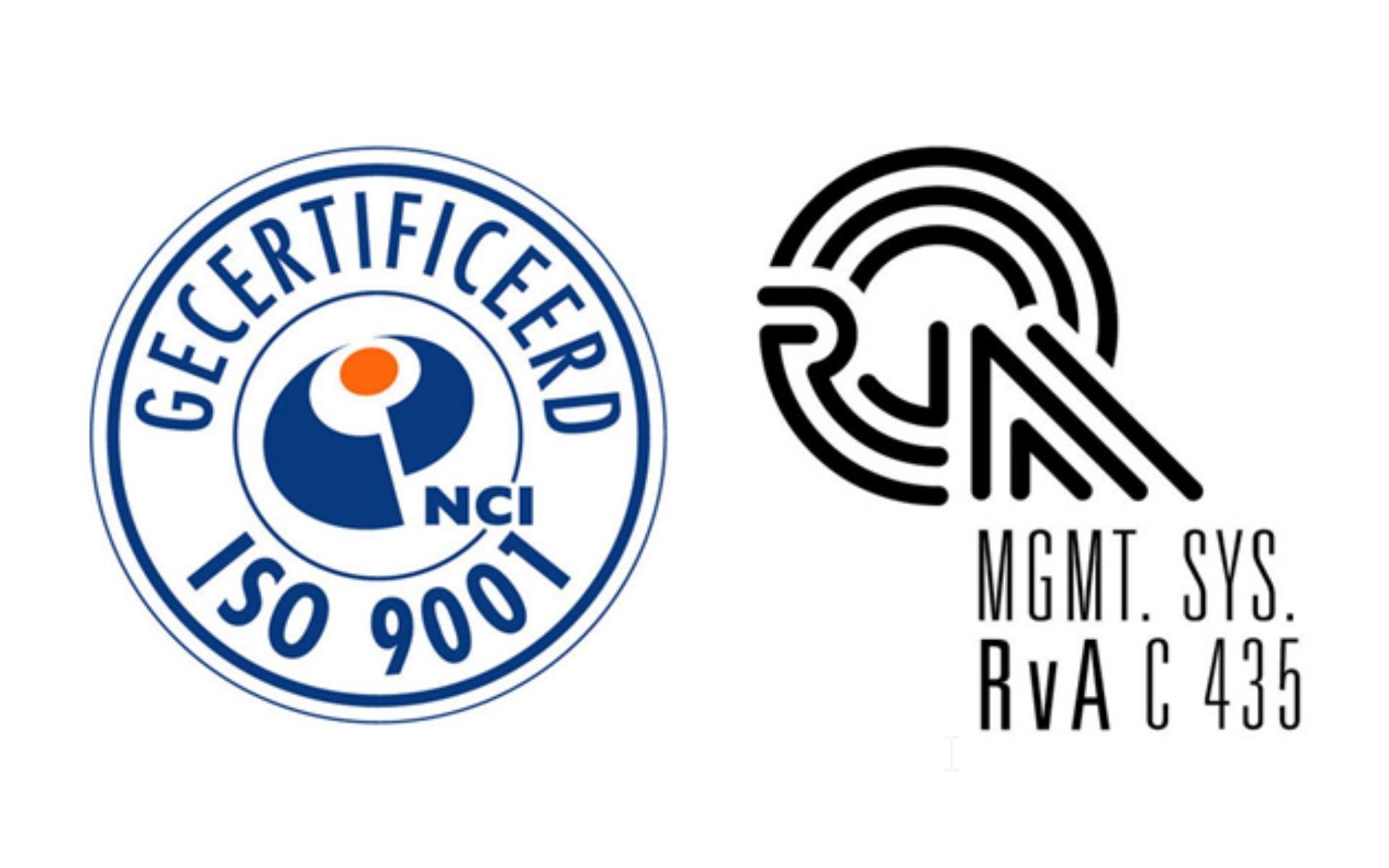 IXON ontvangt ISO 9001 certificaat