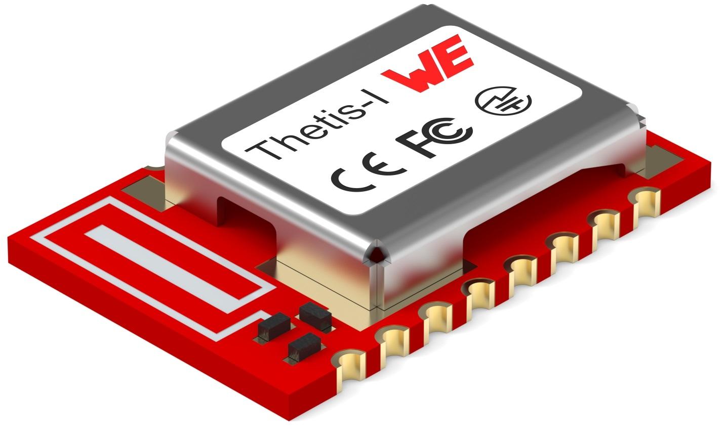 Würth Elektronik Thetis-I (Radio Module Wirepas IoT Netwerk)
