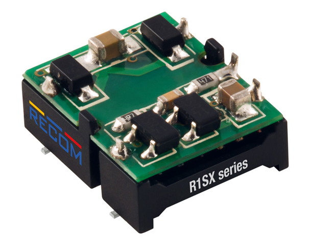 RECOM R1SX: Cutting Edge Mini DC/DC Converter