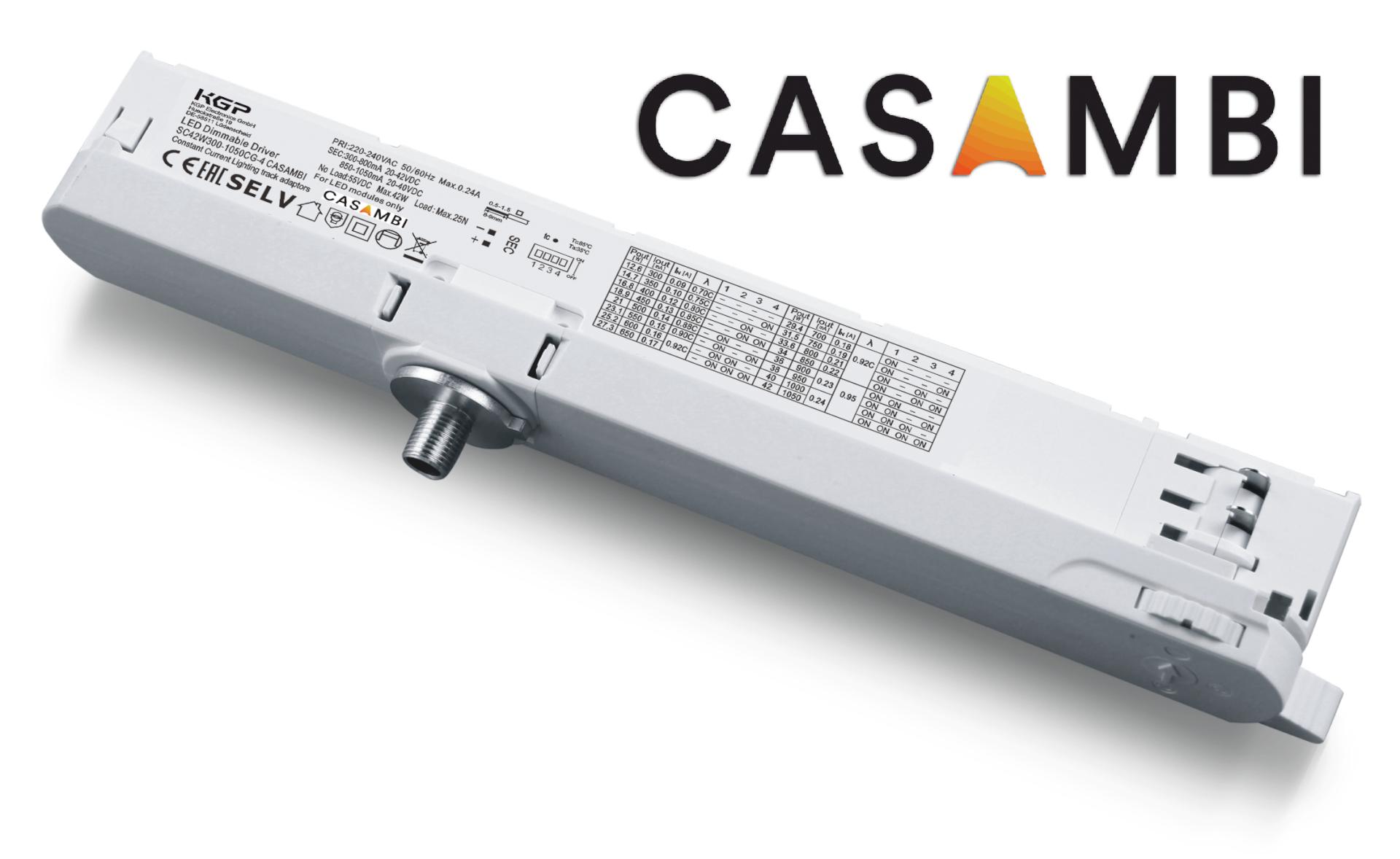 Casambi trackdriver