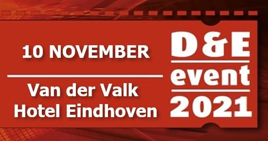 Eventpagina D&E Event 2021 geopend