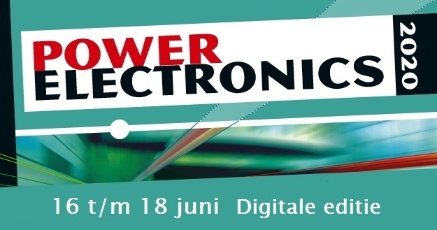 Bezoekersregistratie digitaal Power Electronics event van start!