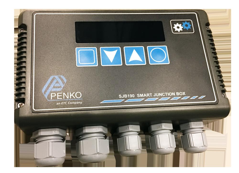 Een intelligente verbindingsdoos voor industriële weegsystemen.