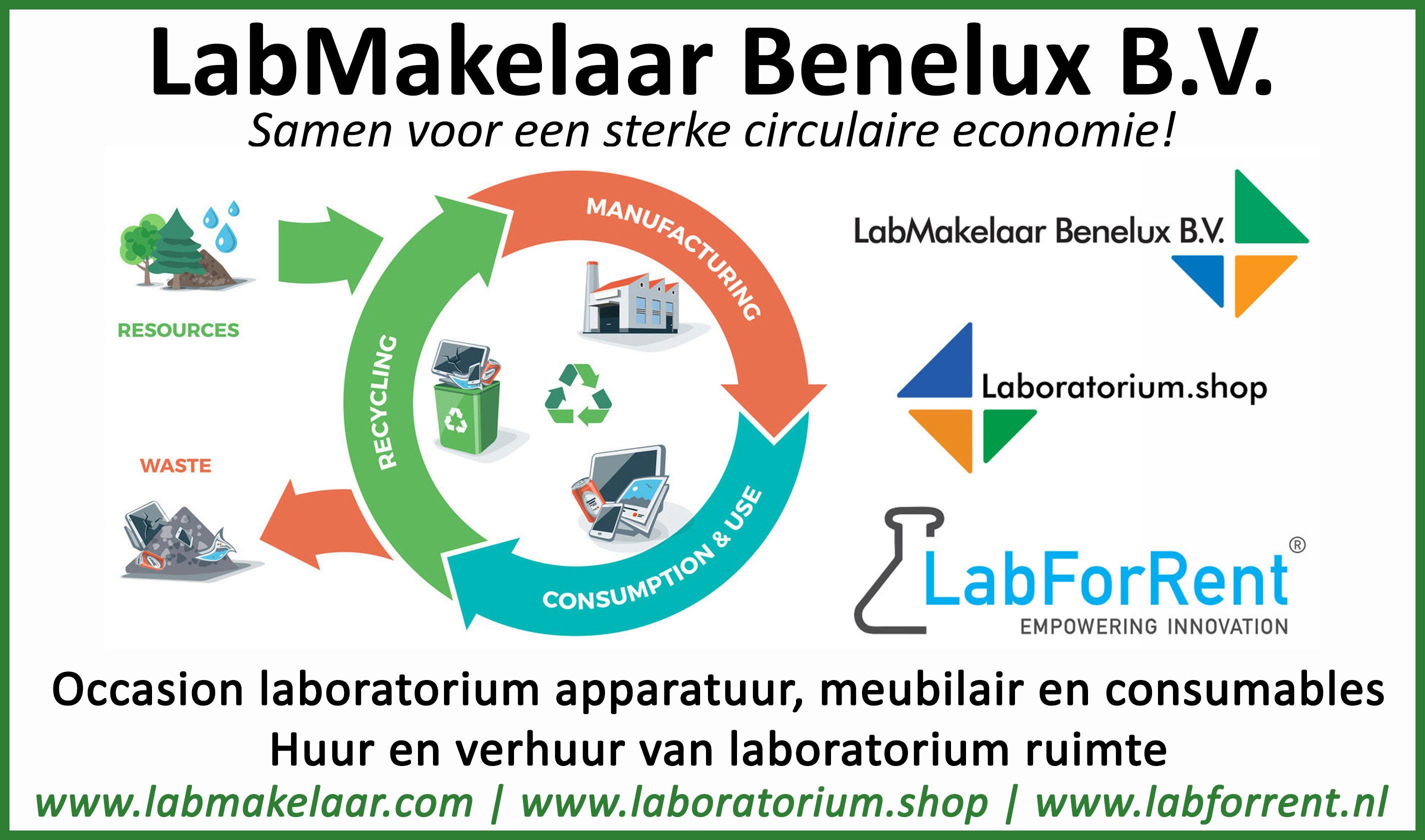 Huur uw laboratorium inrichting bij LabMakelaar