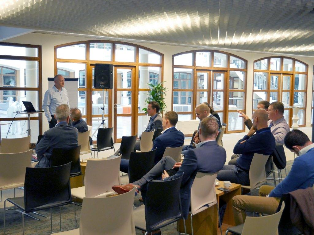 Brancheoverstijgende thema's drijven naar boven bij nieuwe sessie Interactie tussen Branches
