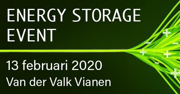 Nog 7 dagen tot het Energy Storage event!