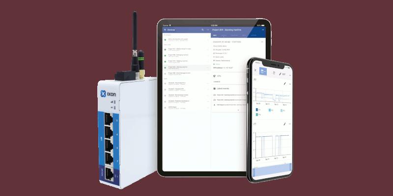 Veilig toegang op afstand tot PLC's en data verzamelen met IXON Cloud