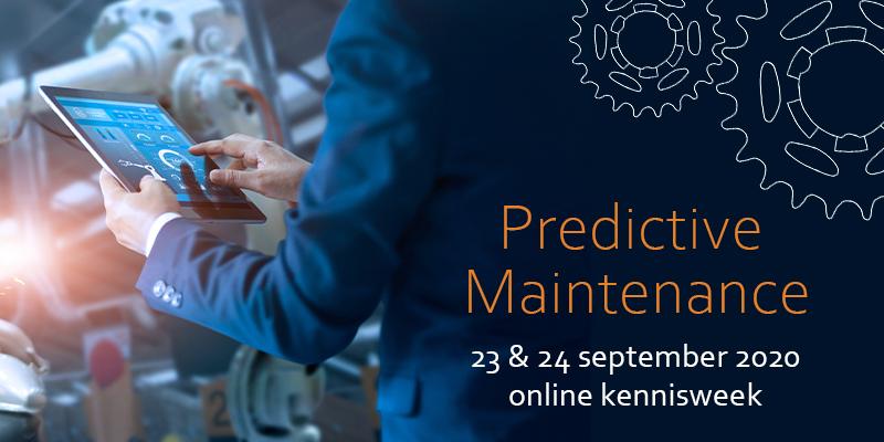 Predictive Maintenance online kennisweek