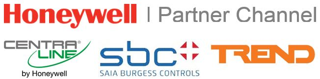 Logo Honeywell Partner Channel | SBC | Trend | CentraLine