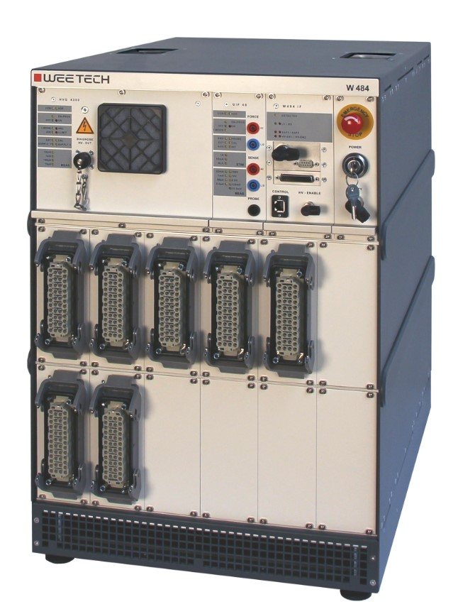 W484: The tester for high voltage components for the e-mobility industry