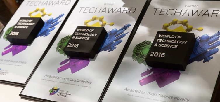 Vier kanshebbers op TechAward World of Laboratory