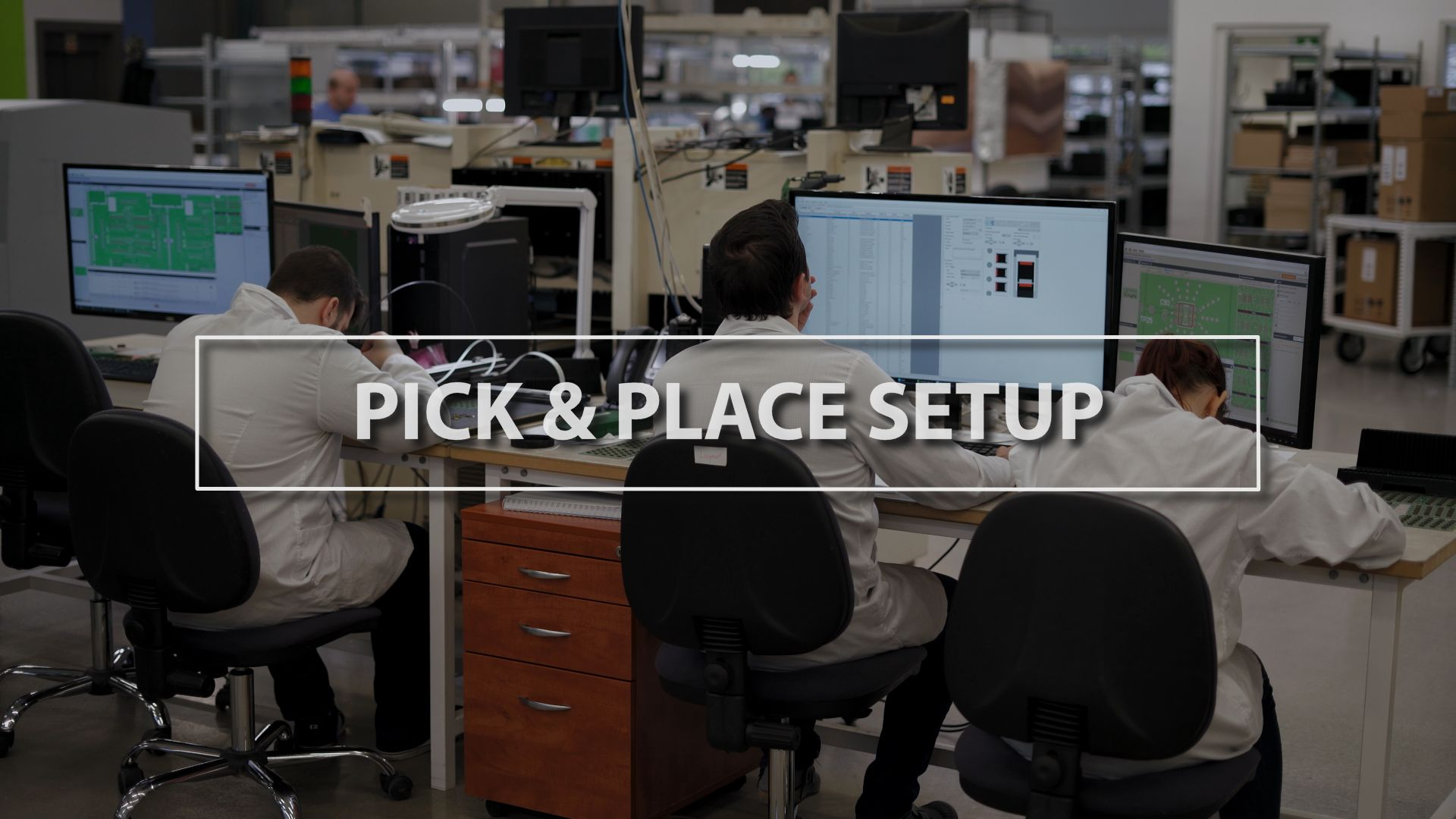 Technology Thursday: Pick & Place Setup
