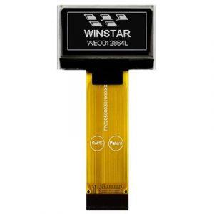 Winstar WEO012864L-ZIF a 1.28″ COG ZIF version OLED display module