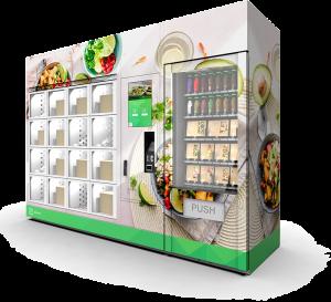 De slimme vending oplossing Zuply uitgerust met het Zemic object identificatie systeem