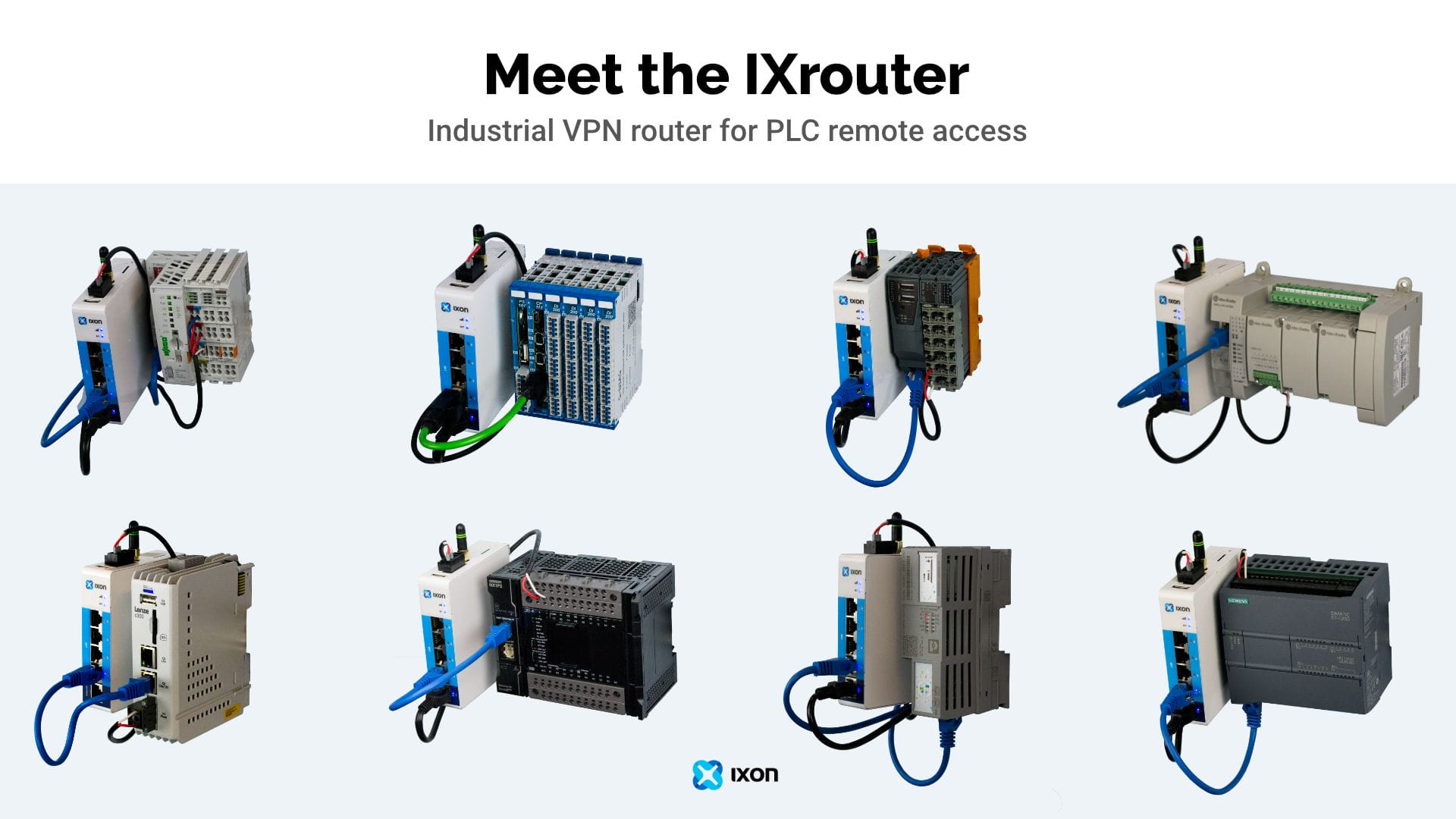 IXrouter - Industriële VPN router van IXON