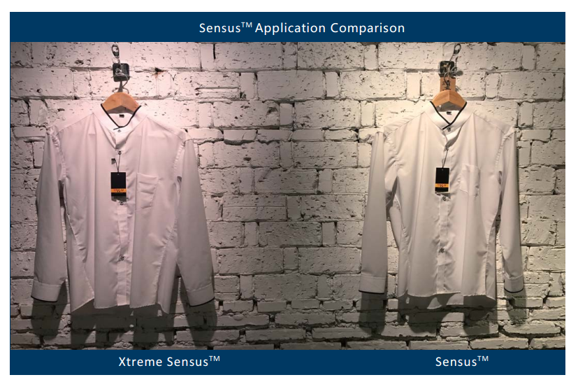 Sensus and Xtreme Sensus make whites crisper and to render more vivid and saturated colors