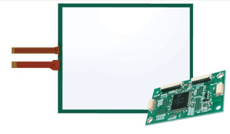 Resistive controller board with gesture function TSC-52/U has released
