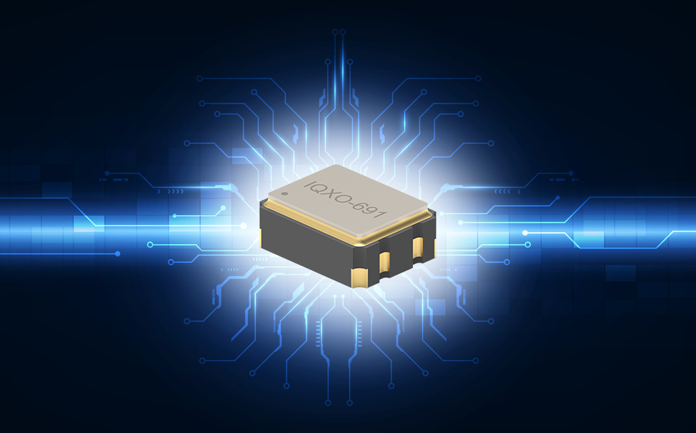 Low voltage clock oscillators available from IQD