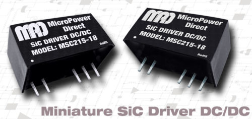 High Isolation SiC Driver DC/DC