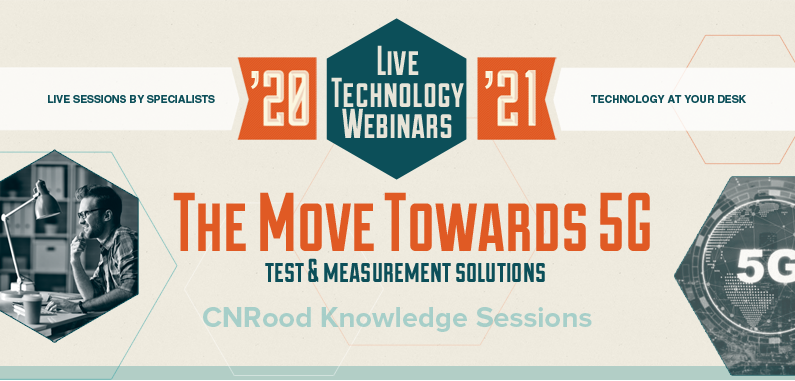 Webinar series 'The Move Towards 5G' by C.N.Rood