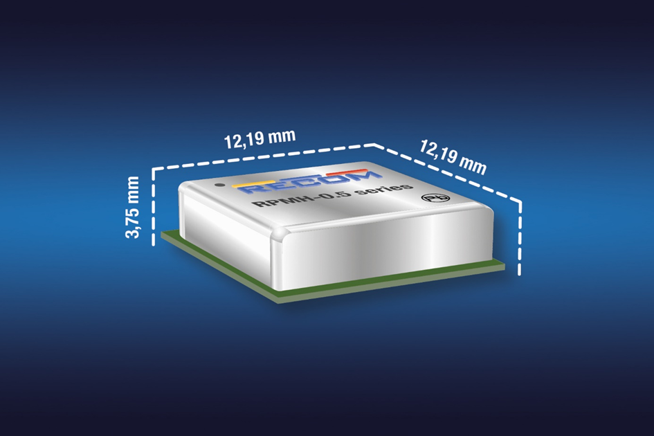 First-of-its-kind, non-isolated DC/DC in SMD LGA footprint with input range spanning 4.3V to 65V