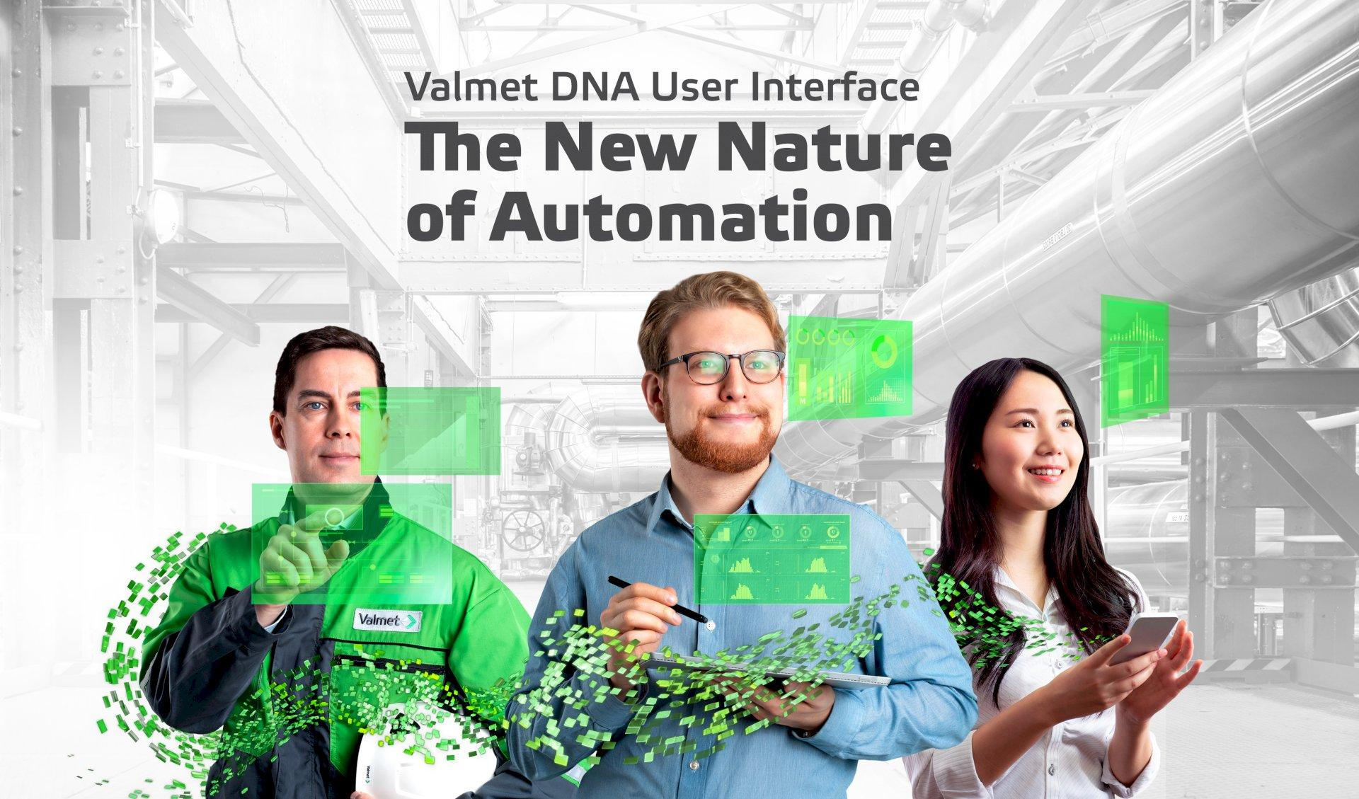 Valmet DNA User Interface - The New Nature of Automation