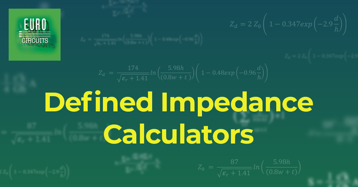 Defined Impedance Calculators