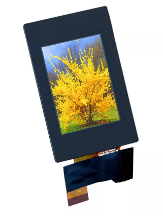 Replacement of 128×64 by TFT color display