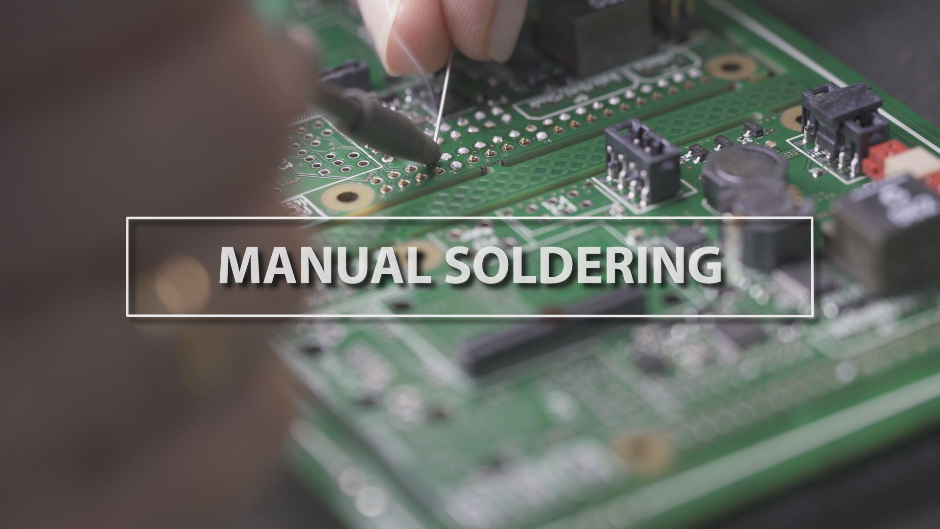 Technology Thursday: Manual Soldering