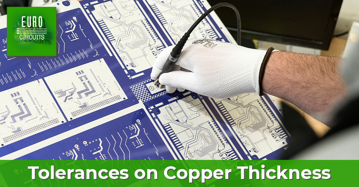 Copper thickness on a PCB